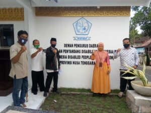 DPD Perkumpulan Penyandang Disabilitas Indonesia (PPDI) NTB siap bermitra wujudkan NTB Gemilang